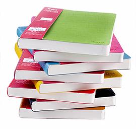 皮面笔记本加厚创意可爱记事本